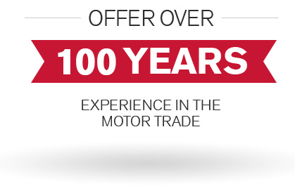 Over 100 years experience in motor trade