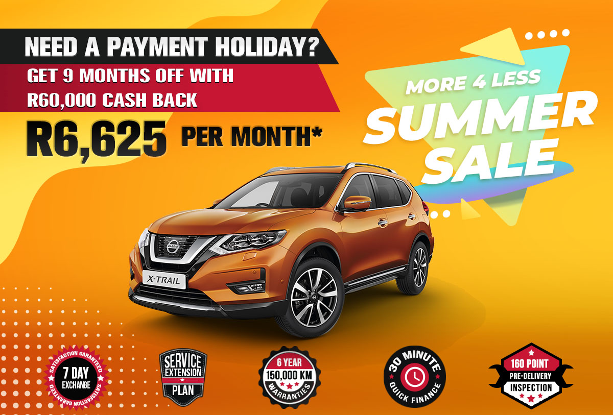 NEC landing page specials October mobile Nissan X Trail 1