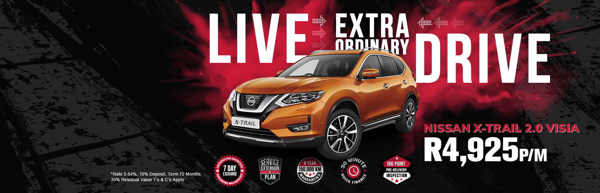 nissan x trail specials