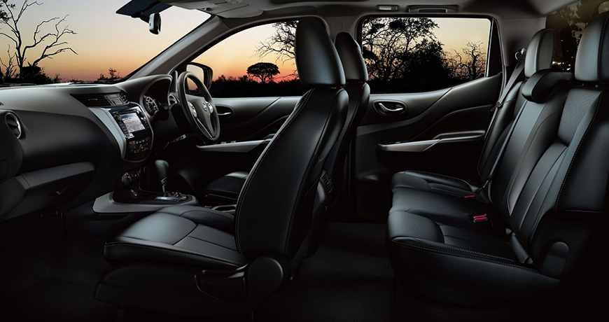 Nissan Navara Accessories for the interior