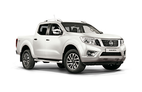 Nissan Navara in white