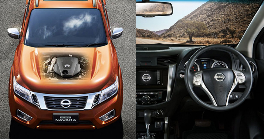 Navara Engine cover and interior