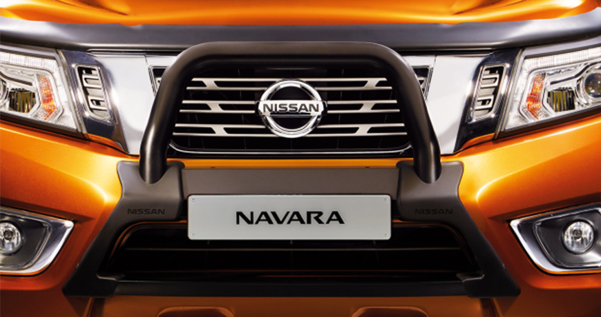 Nissan Navara Bonnet protection