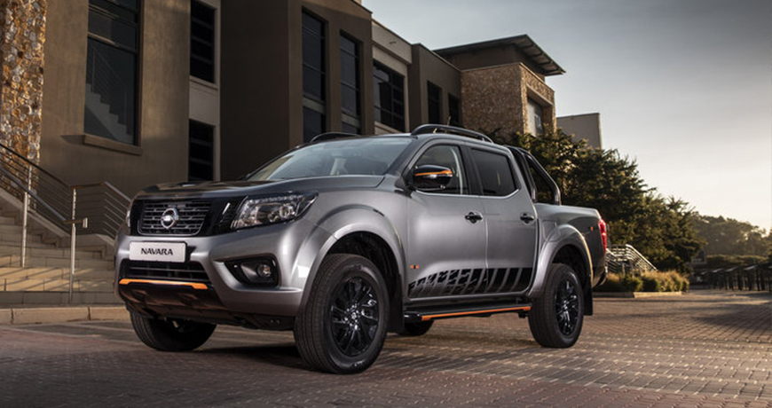 Grey Nissan Navara Stealth Accessories