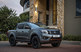 Grey Nissan Navara Accessories