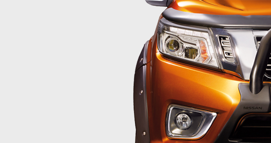 Navara Headlamp Surrounds