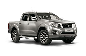 Nissan Navara in grey