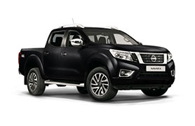 Nissan Navara in black