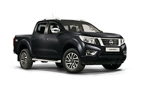 Nissan Navara in dark grey