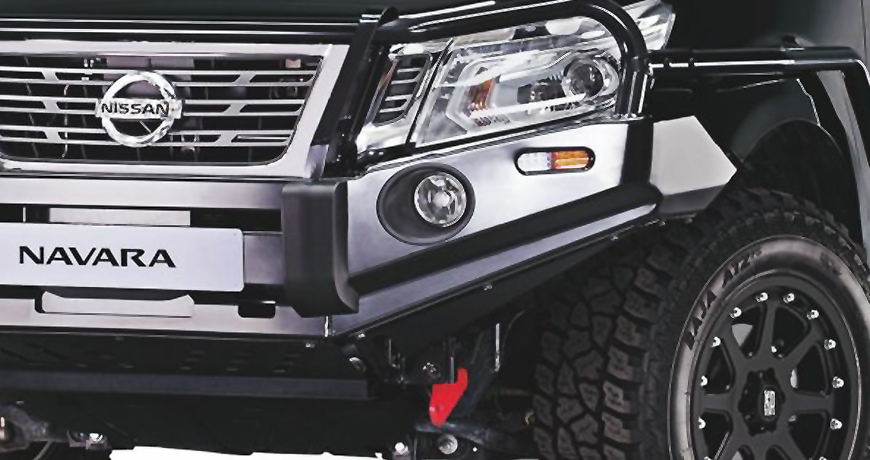 Navara heavy duty protective bar