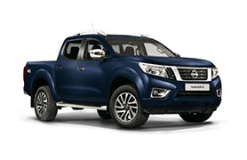 Nissan Navara in blue