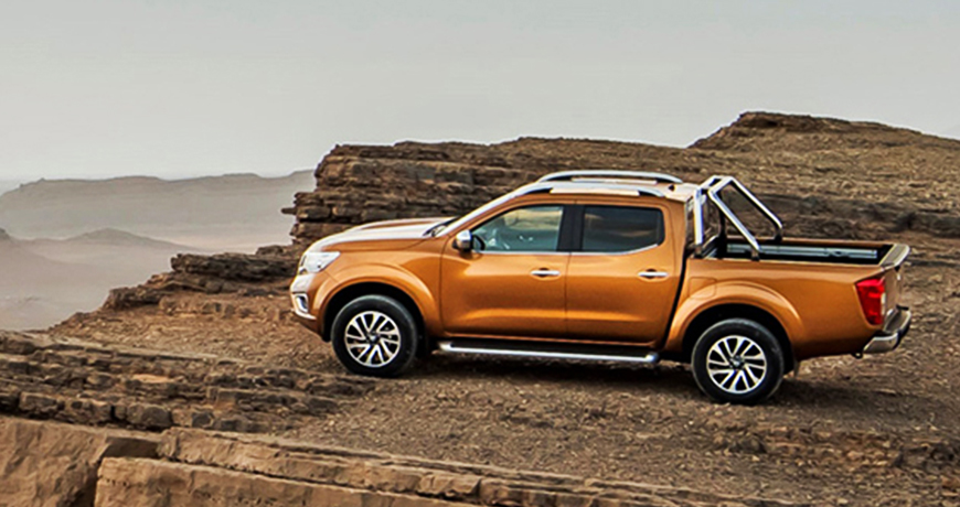 Nissan Navara with a view