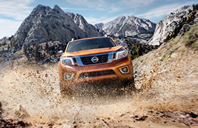 Nissan Navara outdoors