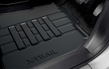 Nissan X Trail rubber floor mats