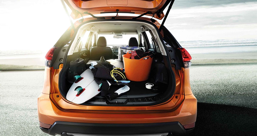 Nissan X Trail Luggage Space
