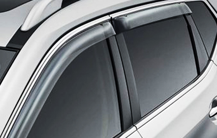 Nissan X Trail weather shields