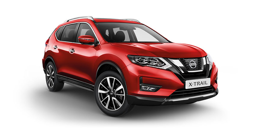 10 Nissan Xtrail TintedRed
