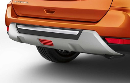 Nissan X Trail rear styling plates