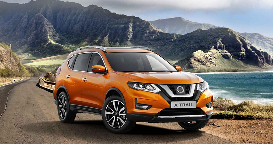 12 Nissan Xtrail Crossover
