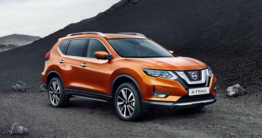 Nissan X-Trail special bold exterior.