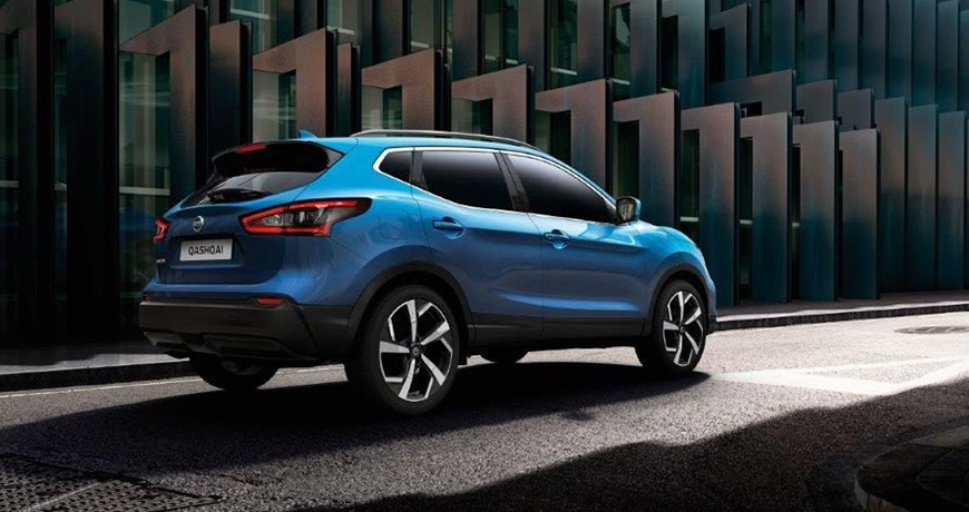 Diesel or petrol – the Nissan Qashqai boasts fantastic fuel consumption rates
