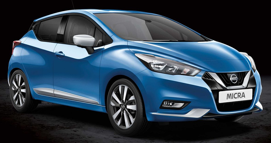 Vibrant Chrome new Nissan Micra styling pack