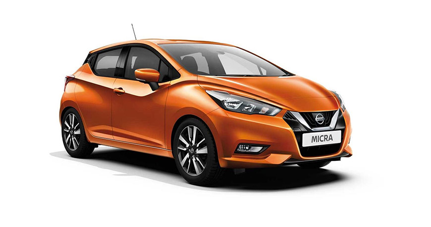 Orange-new-Nissan-Micra-Acenta-Plus