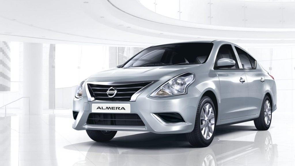New Nissan Almera For Sale Silver2