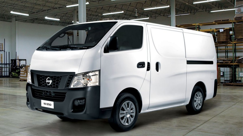 New Nissan NV350 For Sale Panel Van Interior2