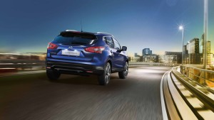 New Nissan Qashqai For Sale Blue Rear
