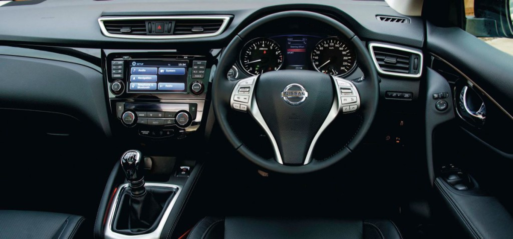 New Nissan Qashqai For Sale Interior2