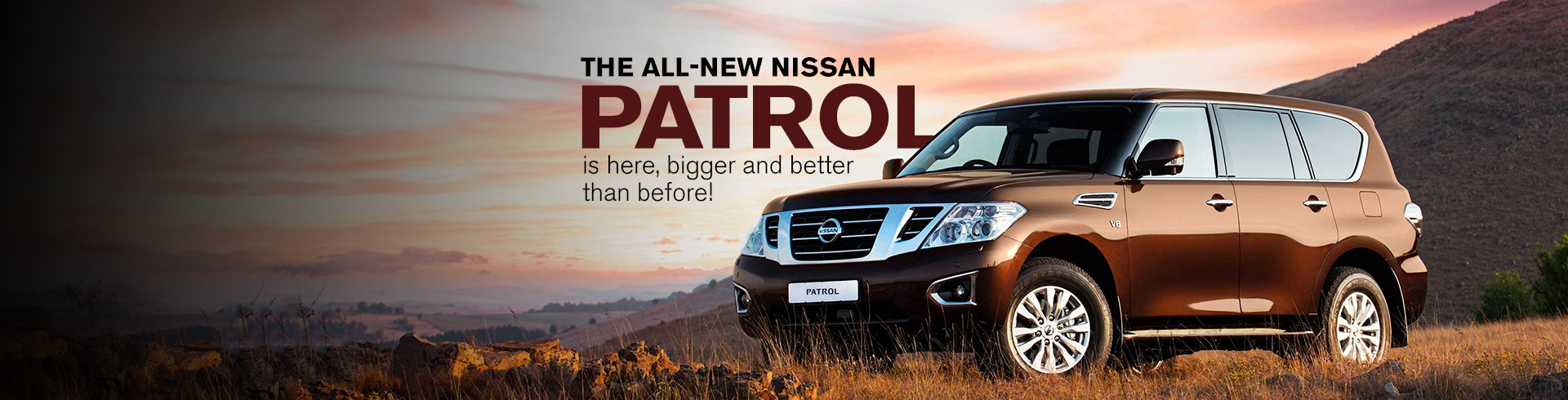 The all-new Nissan PATROL